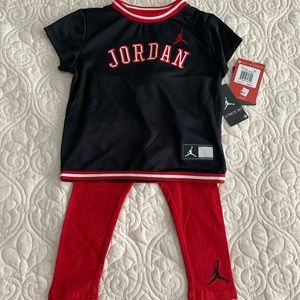 NWT Baby Jordan Outfit Size 18 months